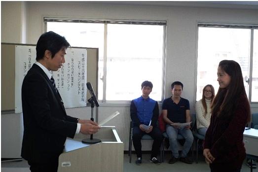 日本語スピーチ3